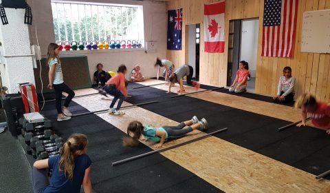Crossfit SMLV est agréé pour l'enseignement Crossfit Kids
